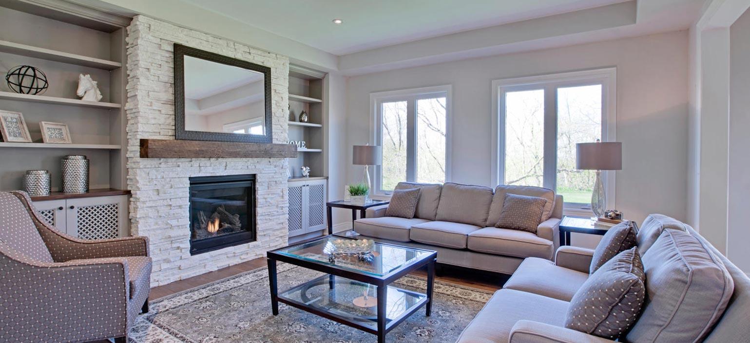 Leslie Street Living Room